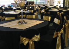 Hire Table Cloths - round, rectangular, black, white, coloured