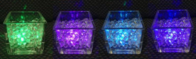 Coloured LED Lighting examples