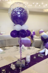 Balloon Art as a centrepiece - example